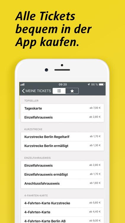 BVG FahrInfo Plus Berlin screenshot-5