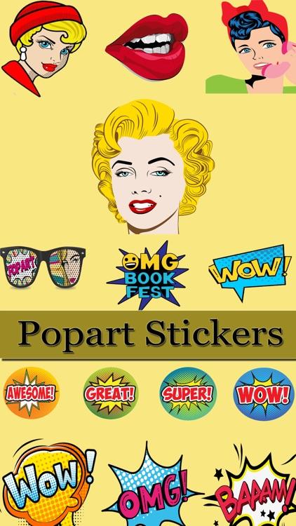 Pop Art Stickers!