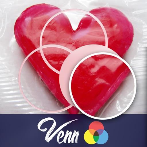 Venn Valentine's Day: Overlapping Jigsaw Puzzles