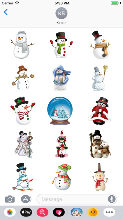 Christmoji - Christmas Sticker screenshot-4