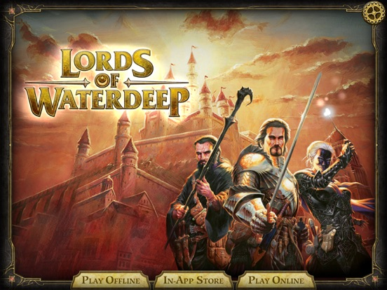 D&D Lords of Waterdeep на iPad