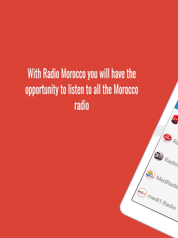 Radio Maroc راديو المغرب-ipad-0