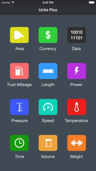 Screenshot for Units Plus Converter in Jordan App Store