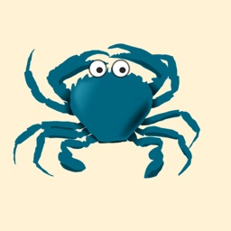 Crabby Crab Stickers