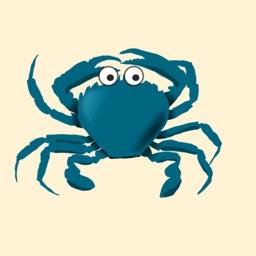 Crabby Crab Stickers