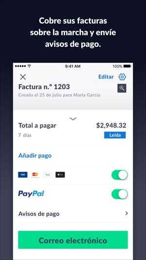 Factura Con Invoice Go En App Store - Como hacer un invoice en la computadora