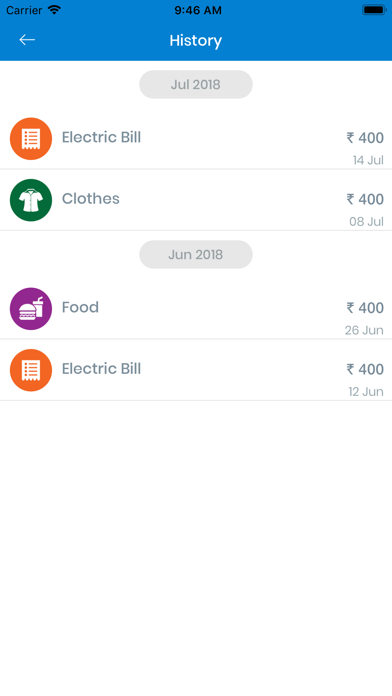 Expense Tracker-Budget Planner screenshot three