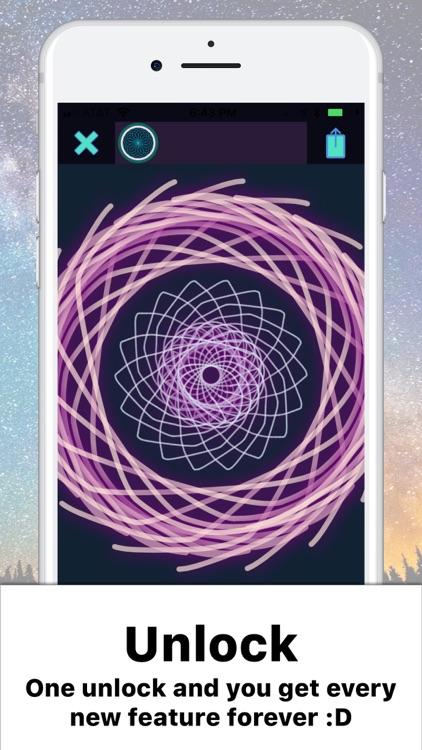 Mandala Maker: symmetry doodle screenshot-3