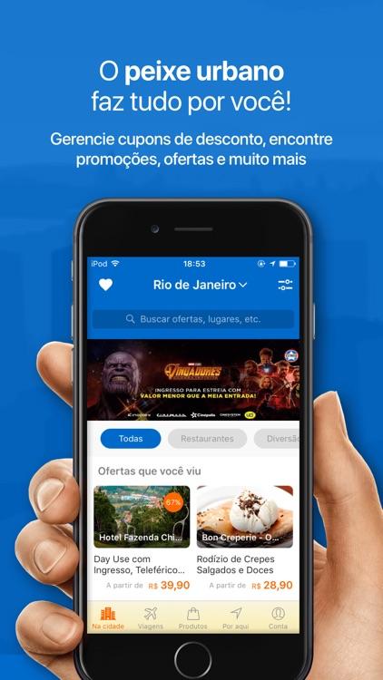 Peixe Urbano Compras e Cupons screenshot-0