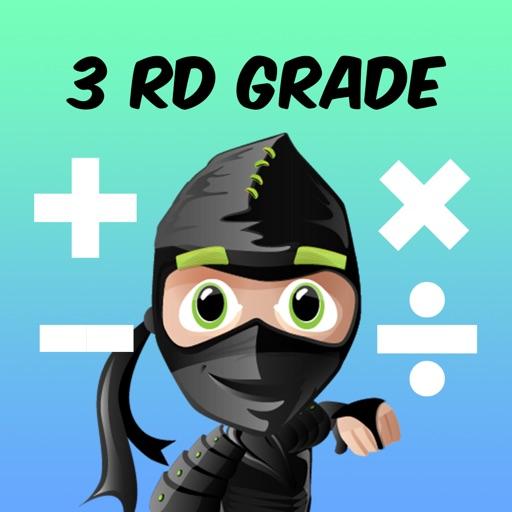 ninja math 3rd grade app logo