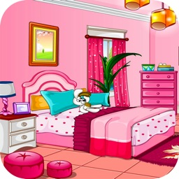 Girly room decoration game