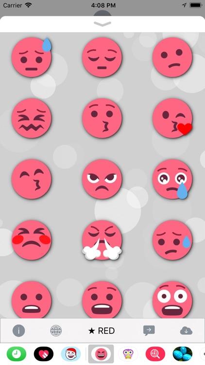 RED Emoji • Stickers screenshot-3