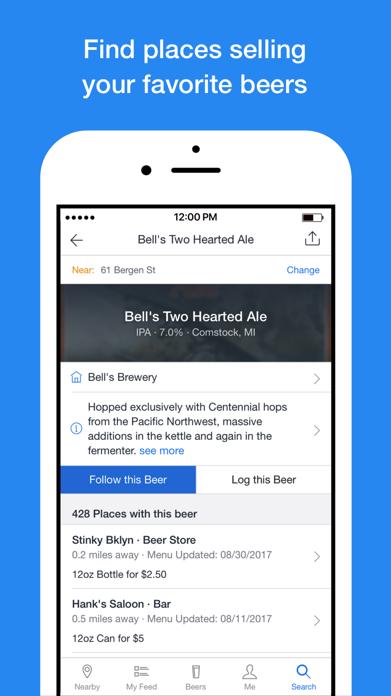 BeerMenus - Find Great Beer Screenshot