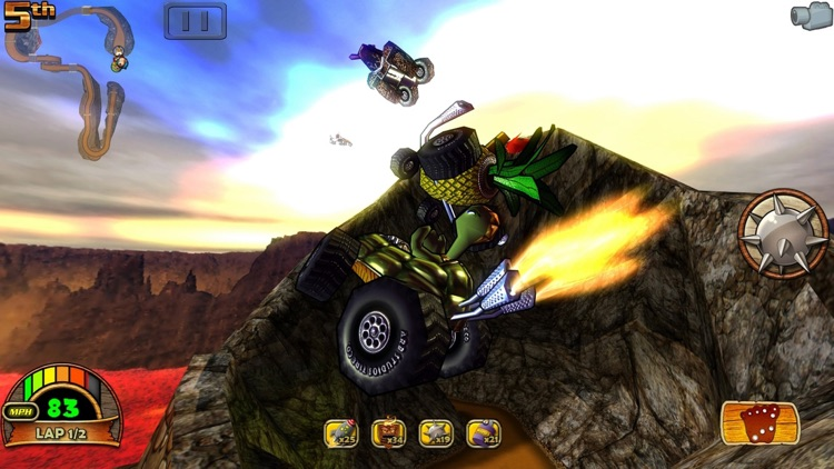 Tiki Kart 3D screenshot-2