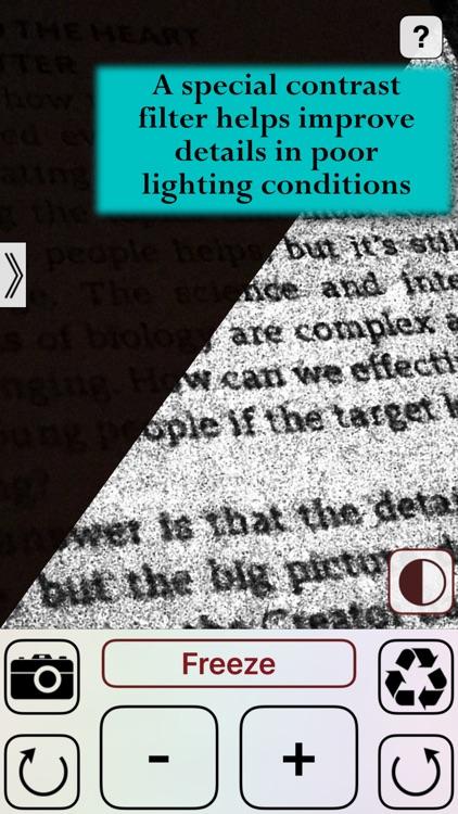 Magnifying Glass Lite screenshot-3
