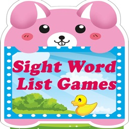 Reading Sight Word List Games
