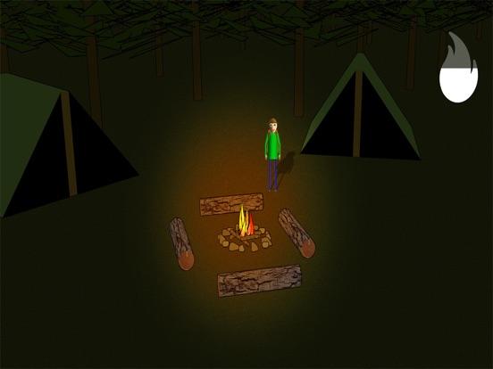 Camping with Baldi's на iPad