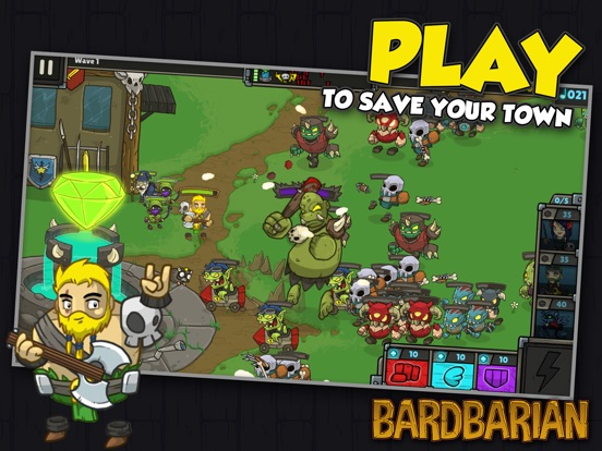 Screenshot 1 Bardbarian - Premium Edition