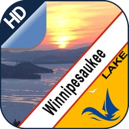 Lake Winnipesaukee offline chart for boaters