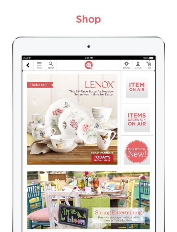 QVC for iPad