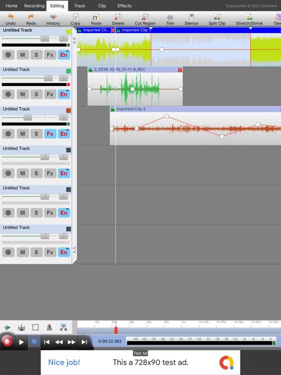 Express Mix Multitrack Mixer screenshot-3