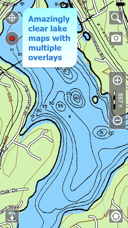 Aqua Map Massachusetts Lakes + screenshot-1