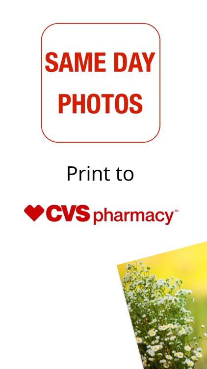 Same Day Photo Prints at CVS