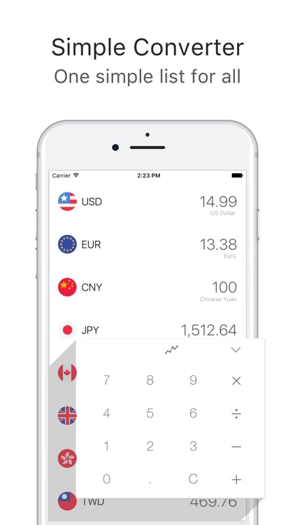 Currency Converter · Clear