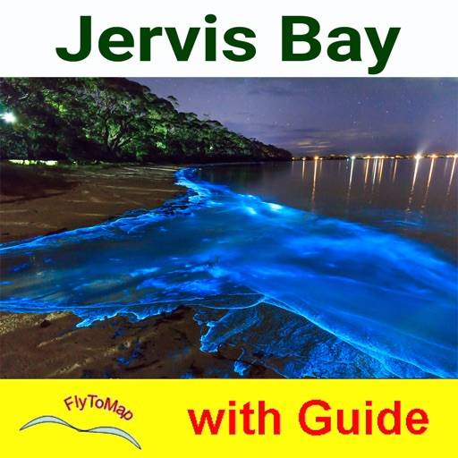 Jervis Bay National Park GPS map with guide