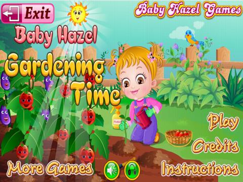 Baby Hazel Gardening Time Game - náhled