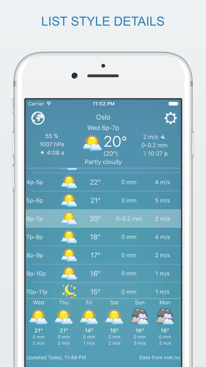 widget weather Screenshot
