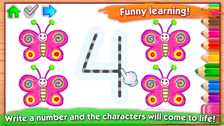 123 Draw Kids to Learn Numbers screenshot-3