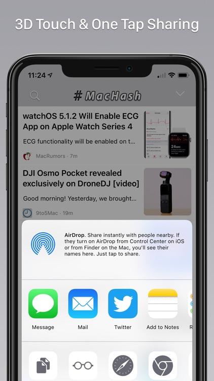 MacHash News screenshot-4