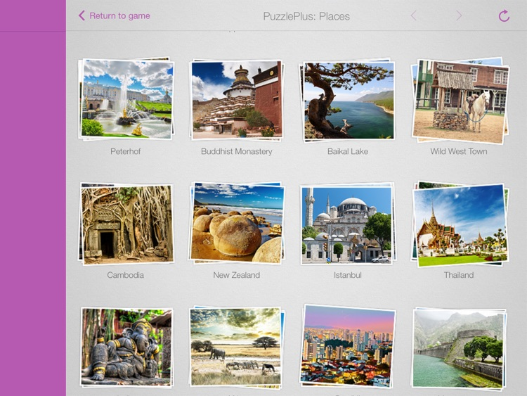 1000 Jigsaw Puzzles Places