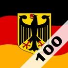 Einbürgerungstest 100 icon