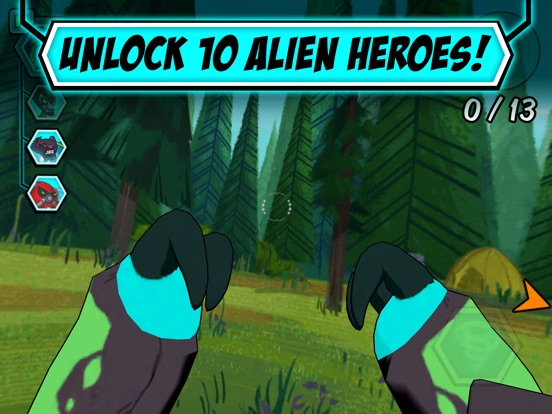 Alien Experience tablet App screenshot 4