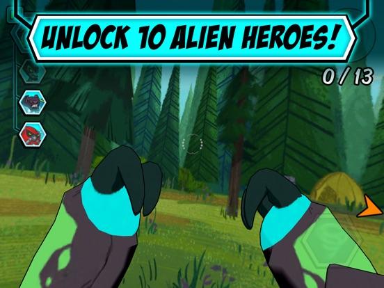 Alien Experience tablet App screenshot 4