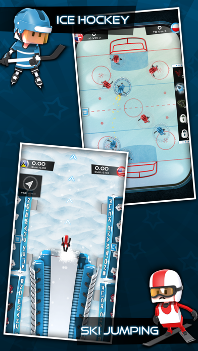 Screenshot #2 pour Flick Champions Winter Sports
