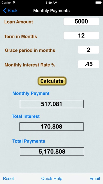 Financial Loan Accounting screenshot-0