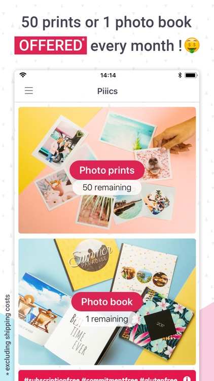 Piiics photo & books printing screenshot-0