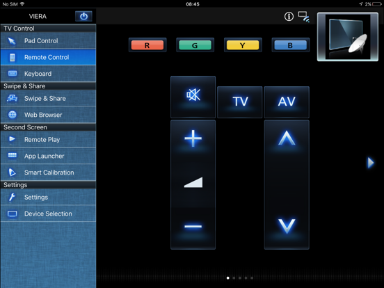 Panasonic TV Remote 2 by Panasonic Corporation (iOS, United Kingdom