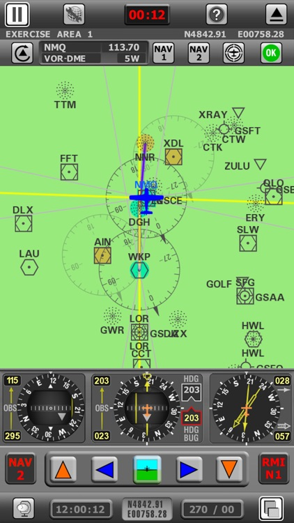 Radio Navigation Simulator IFR screenshot-1