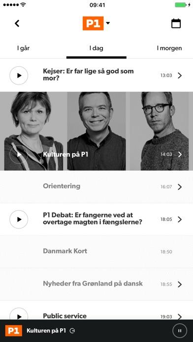 Screenshot for DR Radio in Denmark App Store