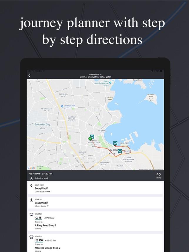 Qatar Transit - Bus & Metro on the App Store