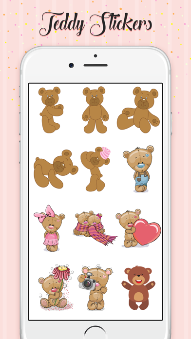 Teddy Love Stickers screenshot 2
