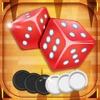 Backgammon Plus: 最佳经典骰子和板