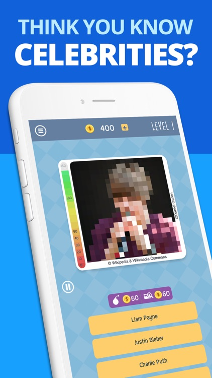 Celebrity Guess: Icon Pop Quiz screenshot-0