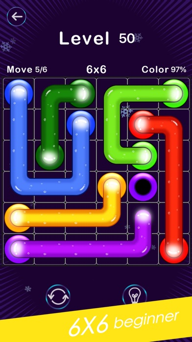 Screenshot for Color Line -Fill Block Puzzle in Russian Federation App Store