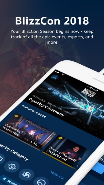 BlizzCon Mobile screenshot-0