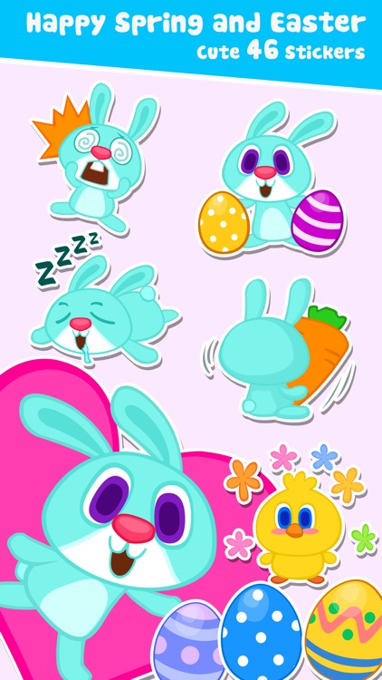 Spring Love Stickers
